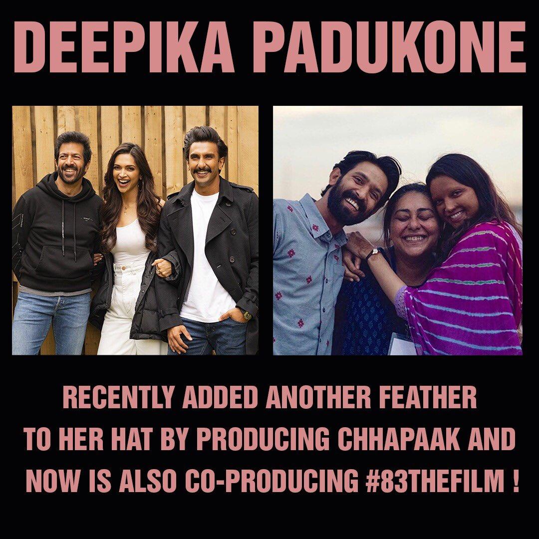 .. @deepikapadukone just killing it! So proud of you Queen! #DeepikaPadukone 🥳♥️