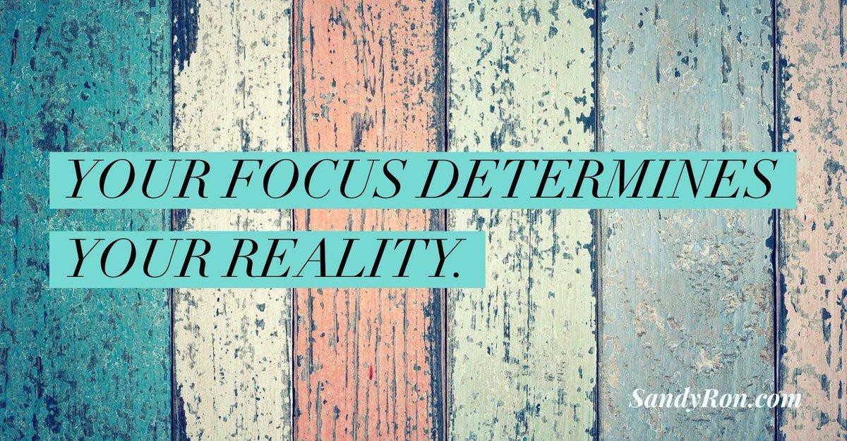 """Your focus determines YOUR REALITY."" #SocialMediaMarketing #SuccessTips <br>http://pic.twitter.com/IVLA8KPoKT"