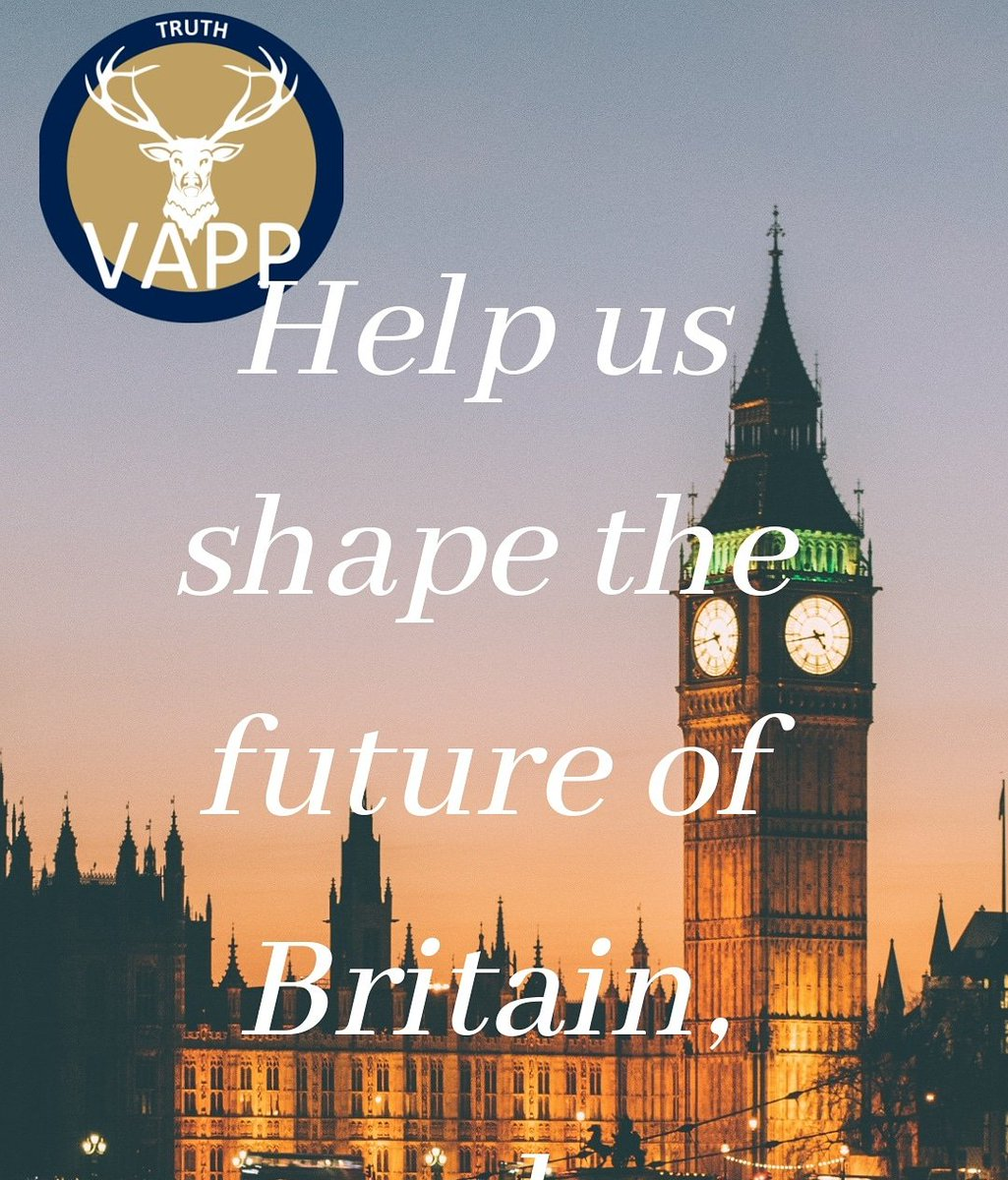 Vapp #Democratic process is to consult with our membership and beyond, To help shape the manifesto by asking for your discussion paper[s] We will be releasing 3 subjects per day. Taxation personal & business Food, farming & fishing policies Family & Children protection policy