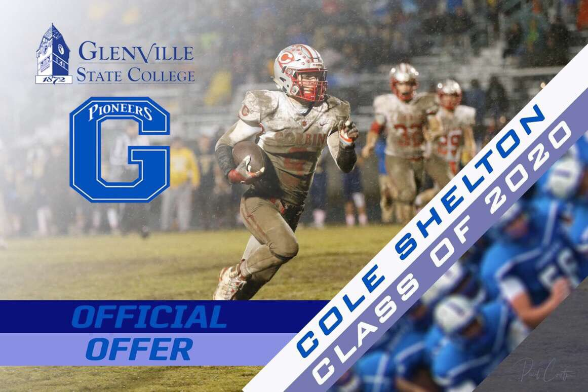 Blessed to receive an offer from Glenville State College! @CoachSteveAdams @GSCFootball @coach_kellar #BleedBlue #Pioneers