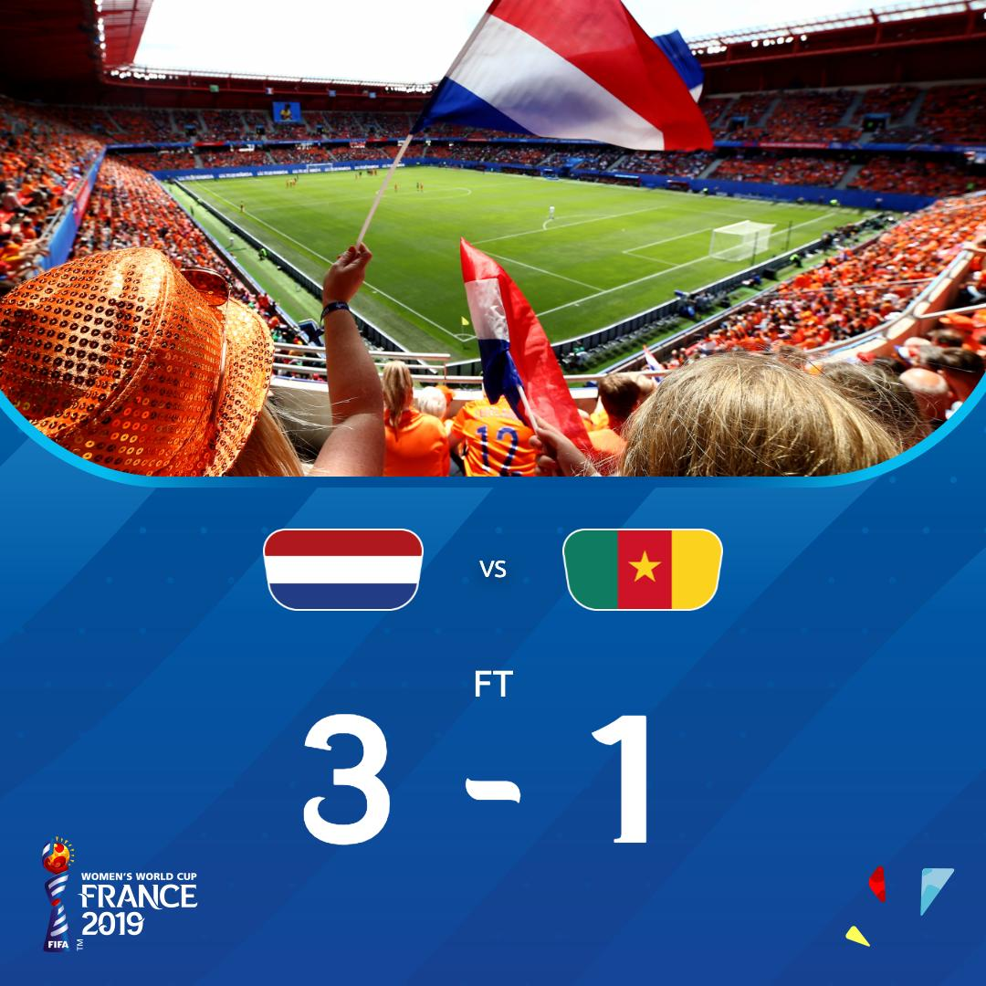 Pays-Bas-Cameroun