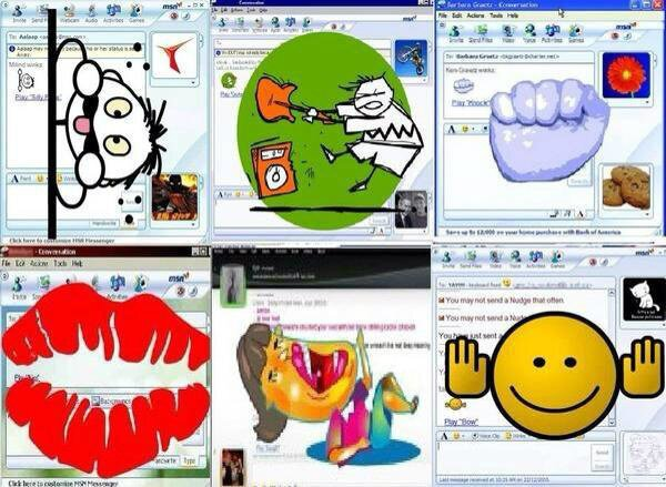 MSN messenger is trending. What a throwback to these annoying fuckers..