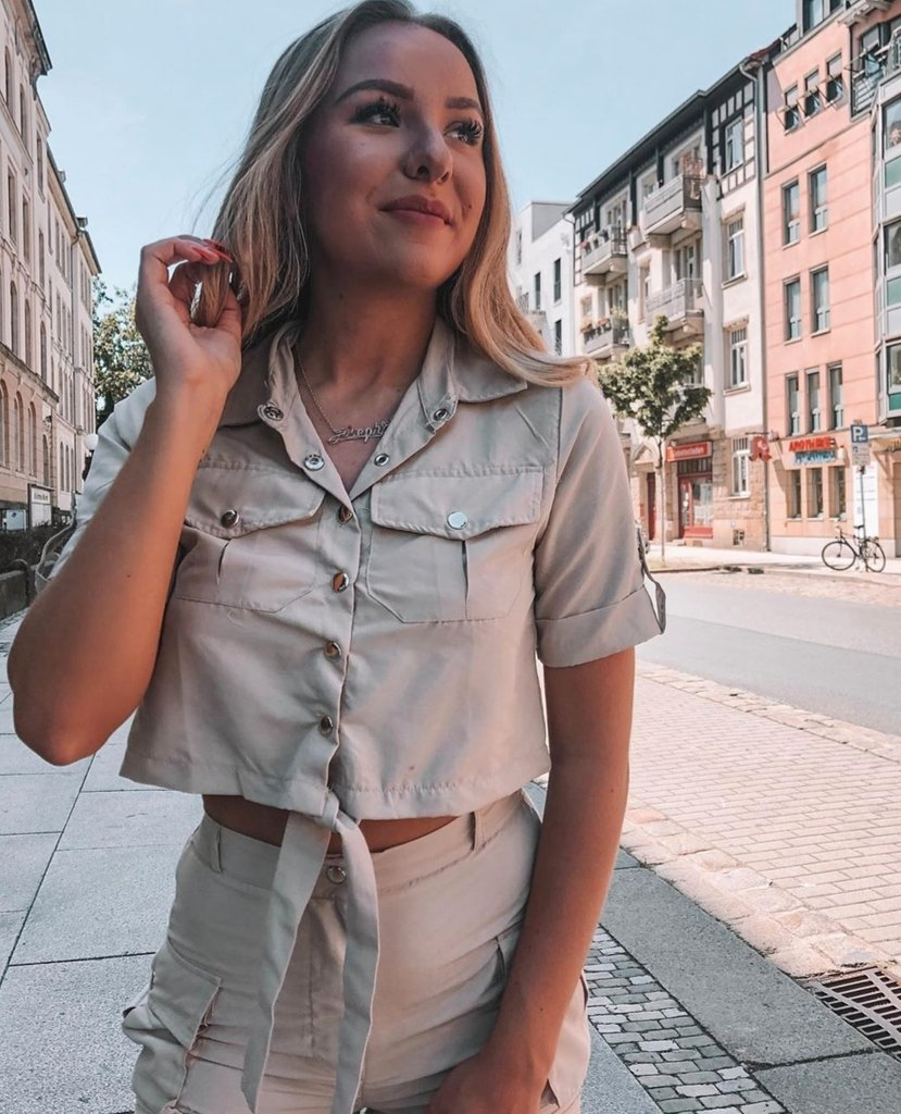 Image for Sunday GLOW 😍  @_annvbe out in the Launie Cargo Co-ord 🔥🔥🔥 Shop ALL New 👉🏽 https://t.co/5y08kiUfWH #ikrushbabe https://t.co/ACxEZPi5pm