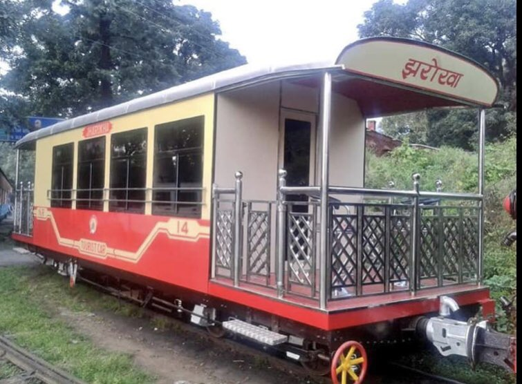 N.R.has introduced chartering of individual seat in Jharoka, RA-100 Self Propelled Train Coach & Rail Motor Car from 13.06.19 to 10.09.19. Now passengers can buy tickets on chartered seat basis on these services plying on breathtaking Kalka-Shimla Heritage Hill Rail Section.