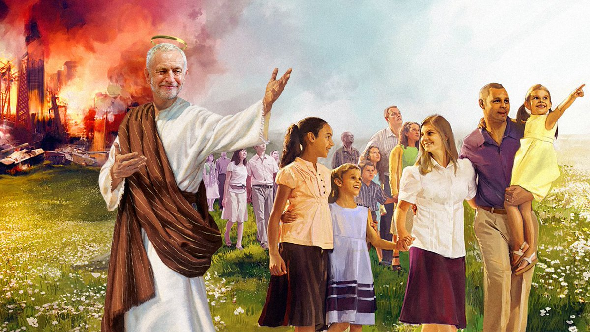 """And Jeremy Said  """"DISCIPLES! DO NOT LOOK BACK! THAT WAS NOT 'PROPER SOCIALISM'. THE GREAT SATAN DID MESS IT UP ON PURPOSE! BEHOLD, MY SOCIALIST EXPERIMENT WILL BE OUR GARDEN OF EDEN!""""  And His Disciples did repeat, """"Yes! That was not 'Proper Socialism'. Let us try again!"""" <br>http://pic.twitter.com/RieyQesYNh"""