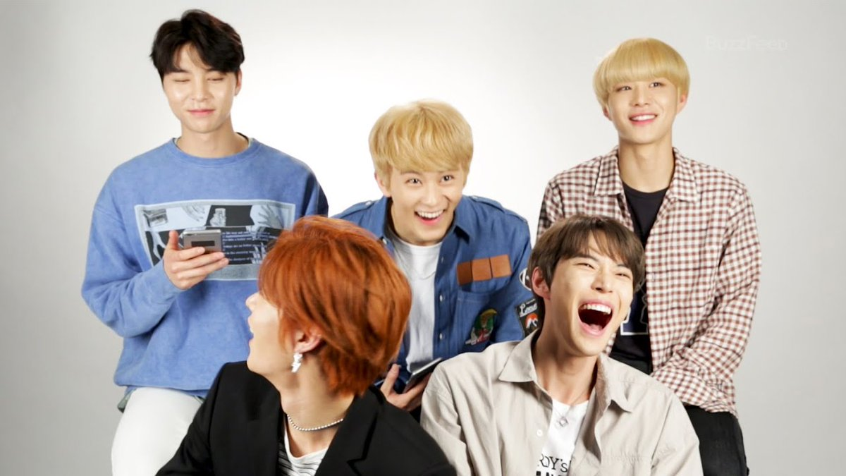 190616 NCT 127 Takes BuzzFeeds Which NCT 127 Member Are You? Quiz youtu.be/CAKRcoYfU_A @NCTsmtown @NCTsmtown_127
