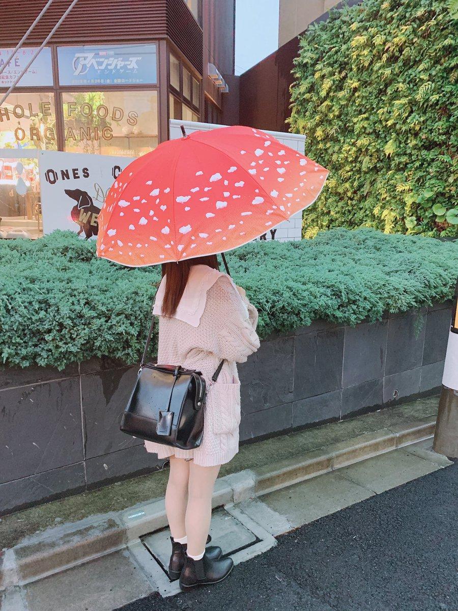 「ベニテングタケの傘、さしなよ。」って、雨が降ってくれた気ぃするロマンティック脳さ。フヒヒ…オヤスミィ…🍄