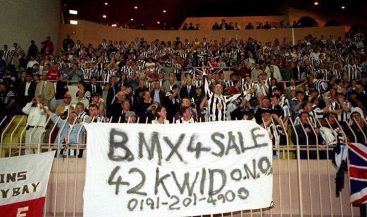 Newcastle fans in Monaco, 1997 #nufc<br>http://pic.twitter.com/iYd4eNNZlc