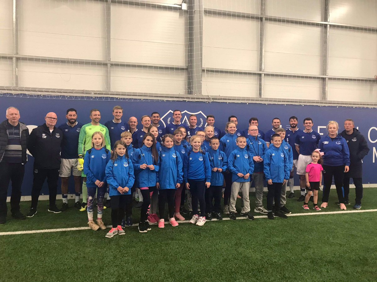 Great night at Finch Farm as Everton's Alan McCormick Memorial Chernobyl Charity Tournament helped raise over £12,000 for afflicted children in Ukraine. Big thanks to everyone who donated and still time to help out. #EFC staff ultimately won the tournament with a few old faces! https://t.co/Lz6RcnMfqx