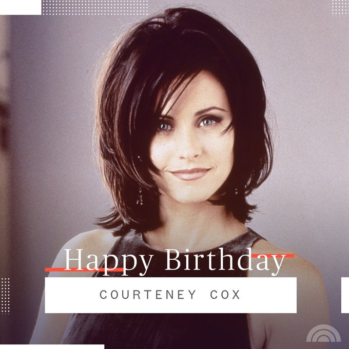 Happy 55th birthday, Courteney Cox!