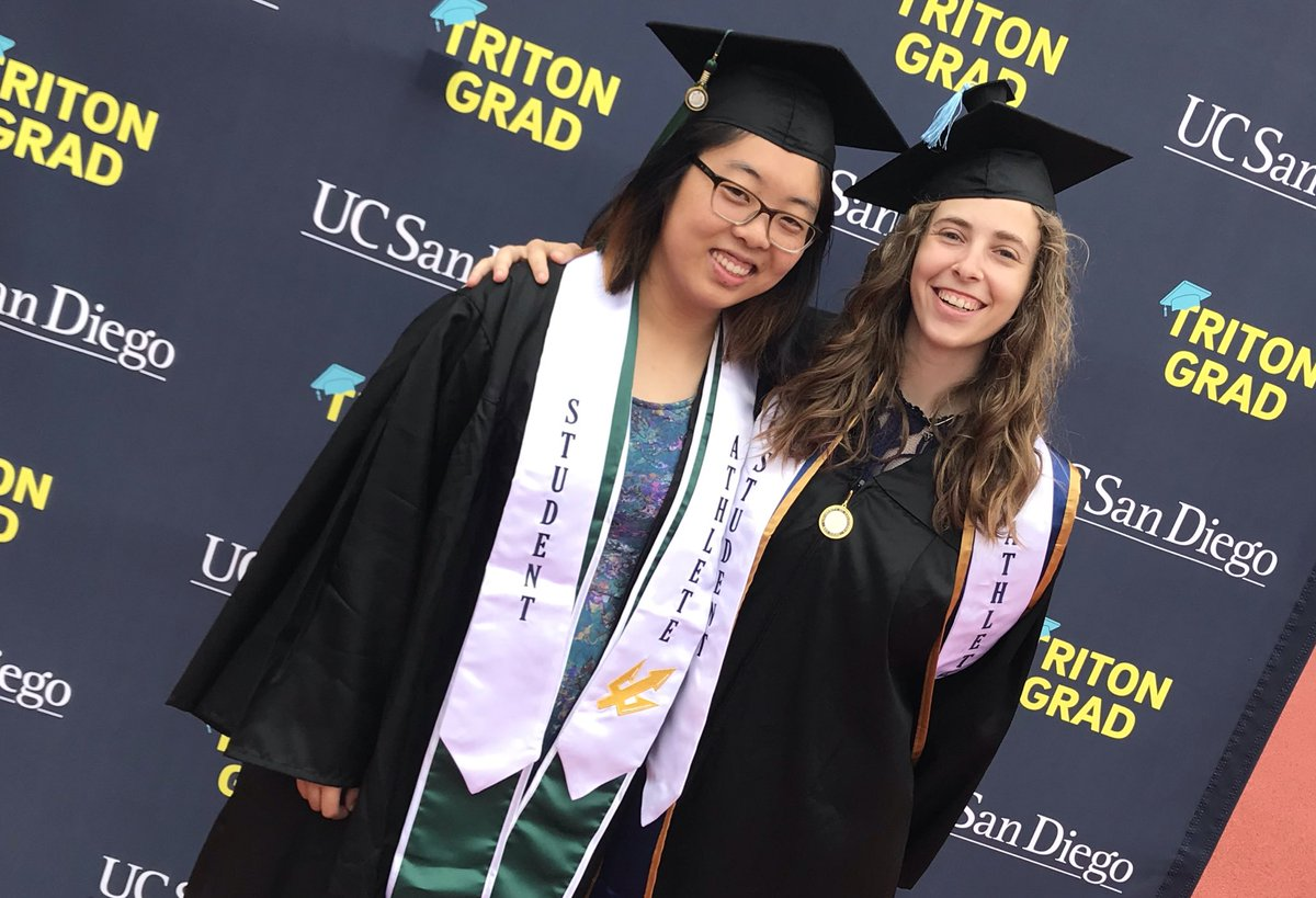 Students are ready!! Join us all morning #ucsd2019 #TritonGrad