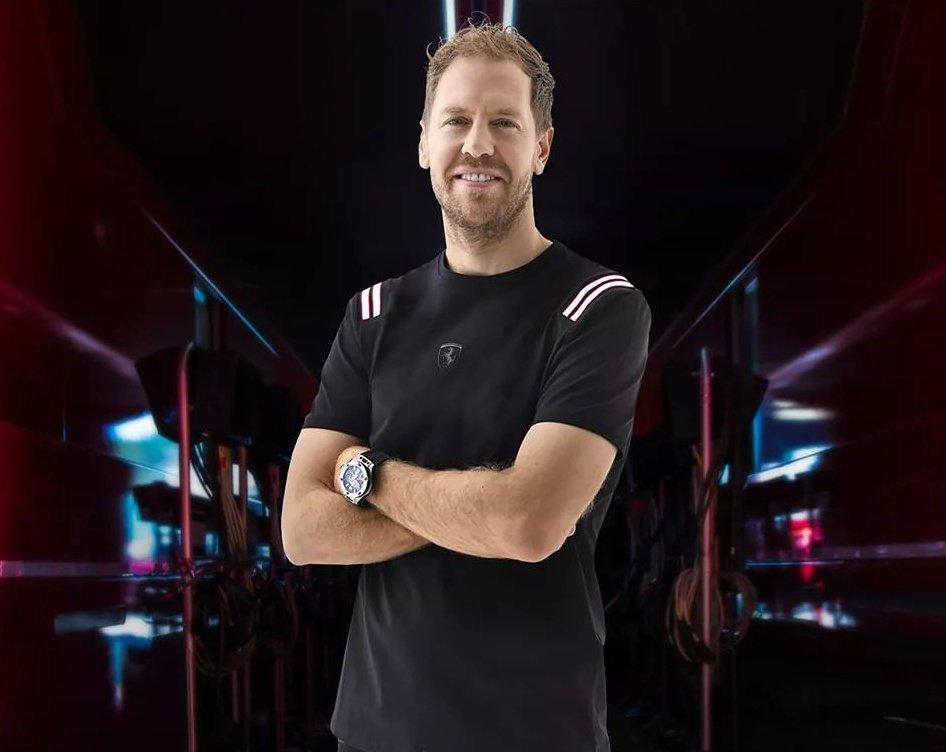 Sebastian Vettel for Scuderia Ferrari Collection.  #Seb5 #F1