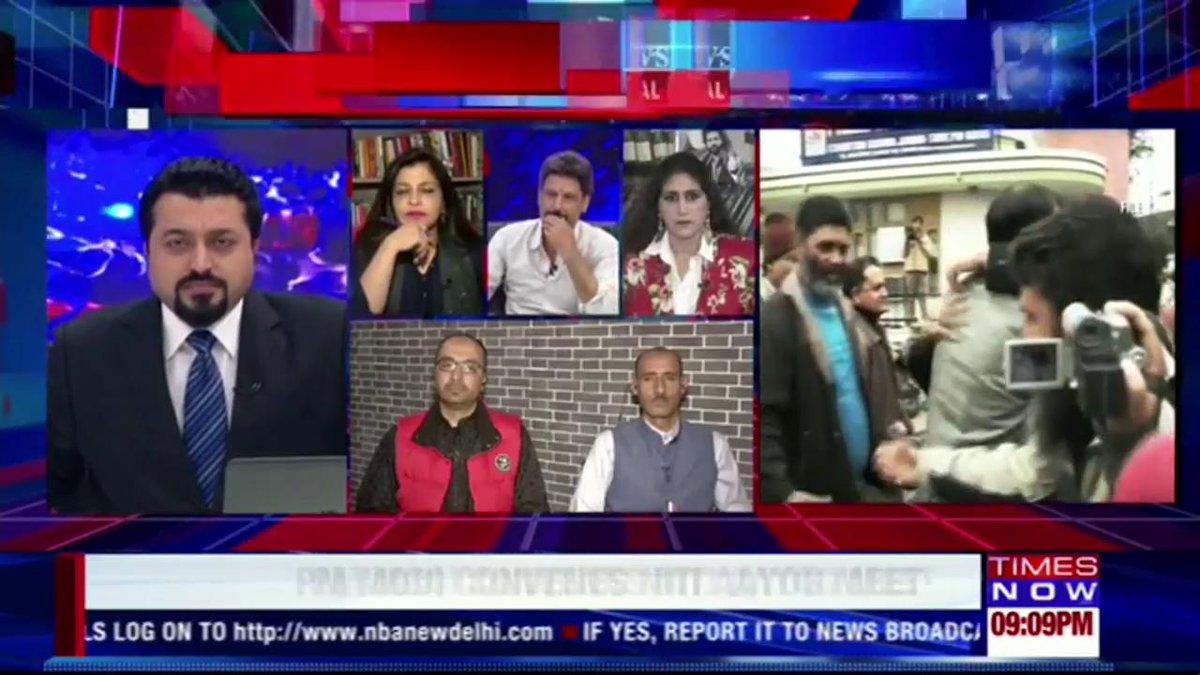 I stand for peace and progress in Kashmir: @shaziailmi, Spokesperson, BJP.   #HurriyatTerrorConfession