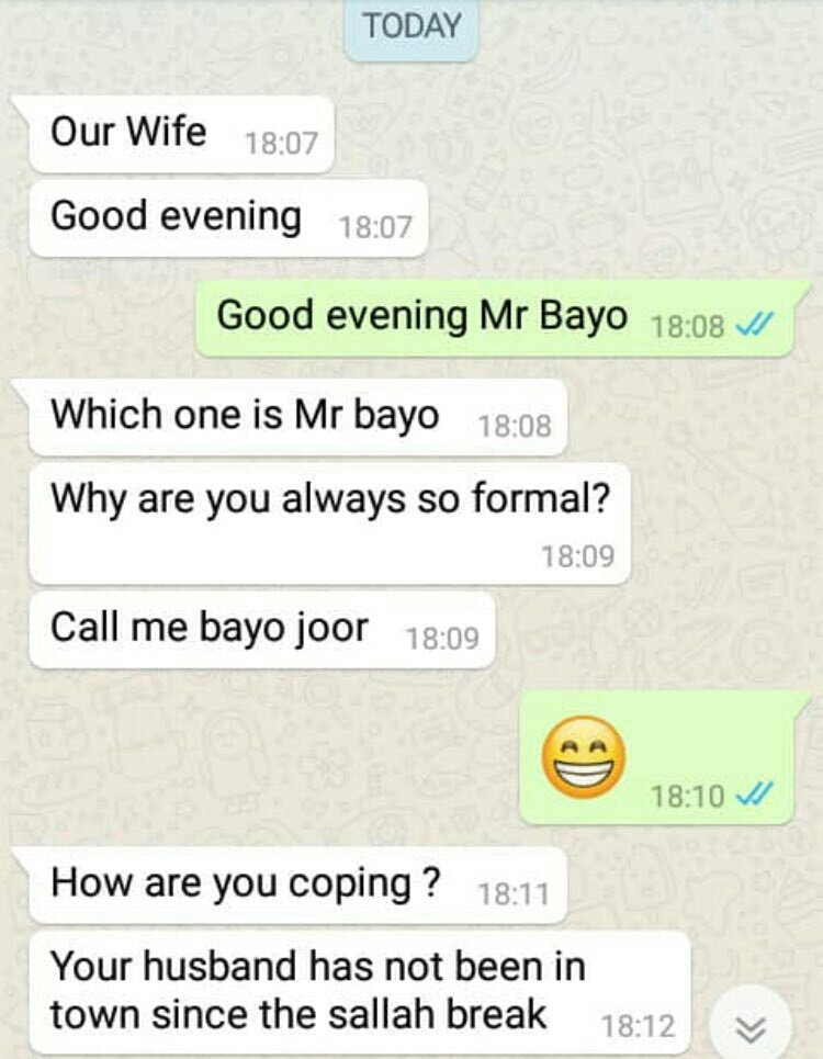 """My problem this Bayo saga is that has corrupted the word """"our wife"""".  Anyone now using it issa suspect.<br>http://pic.twitter.com/x5RJLZkhV6"""