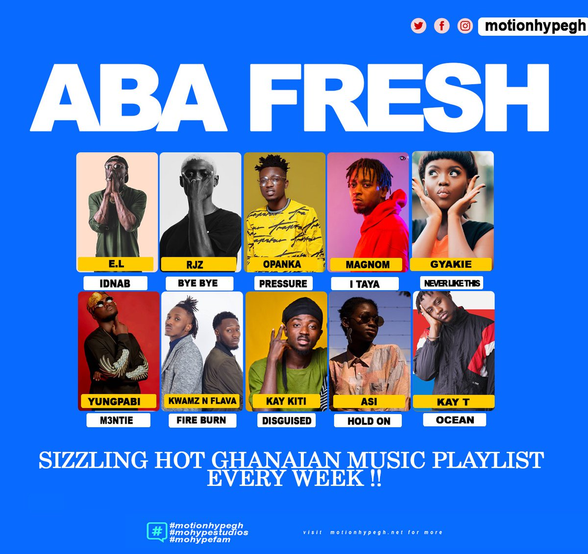 This Week: All New Ghanaian Music.