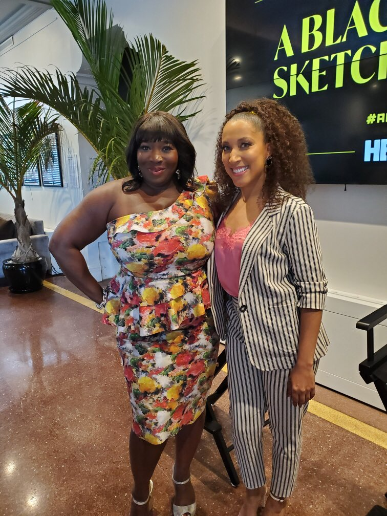 .@HBO hosted a brunch with creator @robinthede to promote her upcoming comedy series #ABlackLadySketchShow, debuting later this year. #ABLSS #ABFF2019 #WeAreABFF