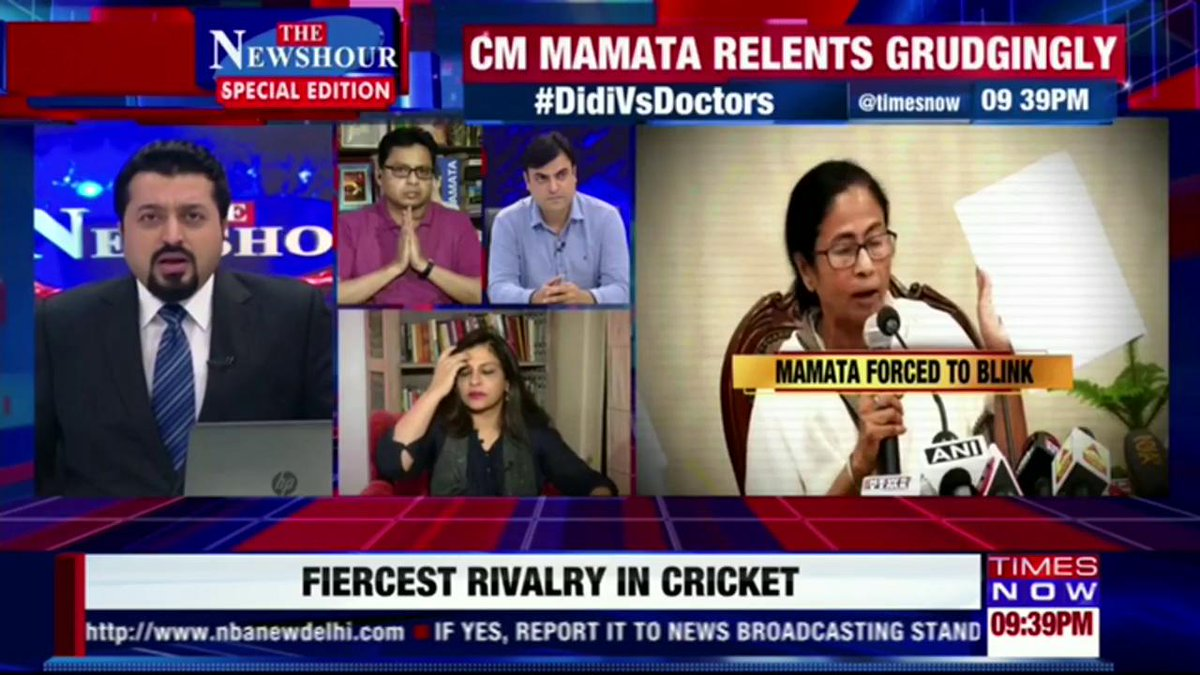 Let us try to resolve the issue: Prof Monojit Mondal, Political Analyst.   #DidiVsDoctors