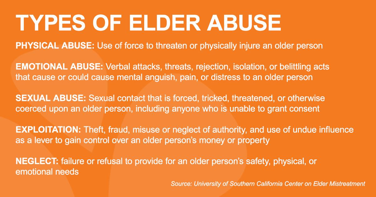 June 15 is World Elder Abuse Awareness Day, a chance to educate each other on how to identify, address and prevent abuse so we can all do our part to support everyone as we age. Learn more at @NCEatUSC: hubs.ly/H0jd9Sl0 #WEAAD