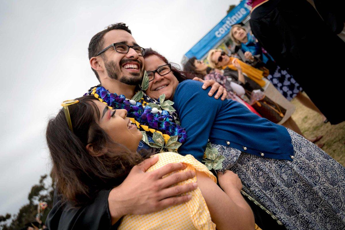"""Today we celebrate you and your accomplishment. Congratulations."" - Chancellor Pradeep K. Khosla, to graduates #ucsd2019 #TritonGrad https://commencement.ucsd.edu/"