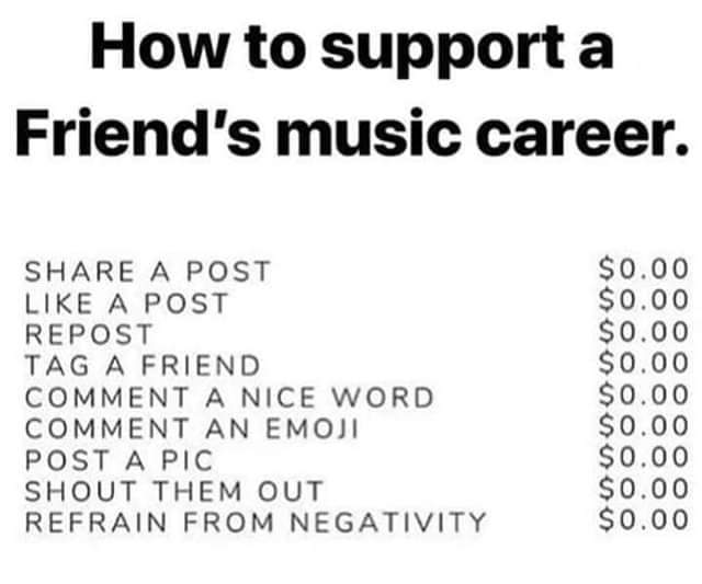 #payitforward Support your favorite bands and artists who deserve your love <br>http://pic.twitter.com/lUIdZjUCah