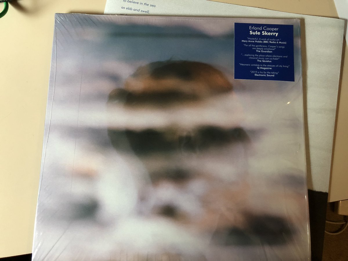 Lovely afternoon spent with the beautiful and moving Sule Skerry LP from @ErlandCooper Takes me to a happy homely sheltered place overlooking the Pentland Firth and across to Orkney #albumoftheyear #home #bythesea<br>http://pic.twitter.com/cVYYrhZvSs