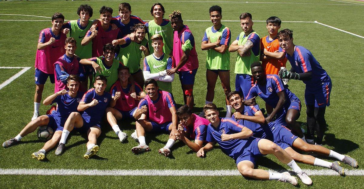 Mucha suerte a todo mi equipo mañana en la semifinal contra el @LevanteUD  Vamos ! Queremos estar en la final 👊🏽💪🏽 #AupaAtleti
