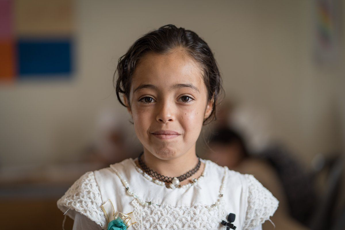 Every child has the right to grow up in a safe, inclusive, protective environment, free from violence. Please RT if you agree and together, lets #endviolence against children! @un pic:@unicefjordan @sdg2030 v/@srsgvac