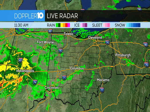Here's a look at the current radar | Track the rain: http://10tv.com/interactive  #10tv