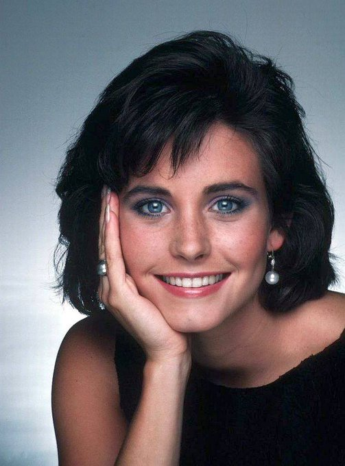 Happy Birthday to Courteney Cox who turns 55 today! Pictured here back before she was a Friend.