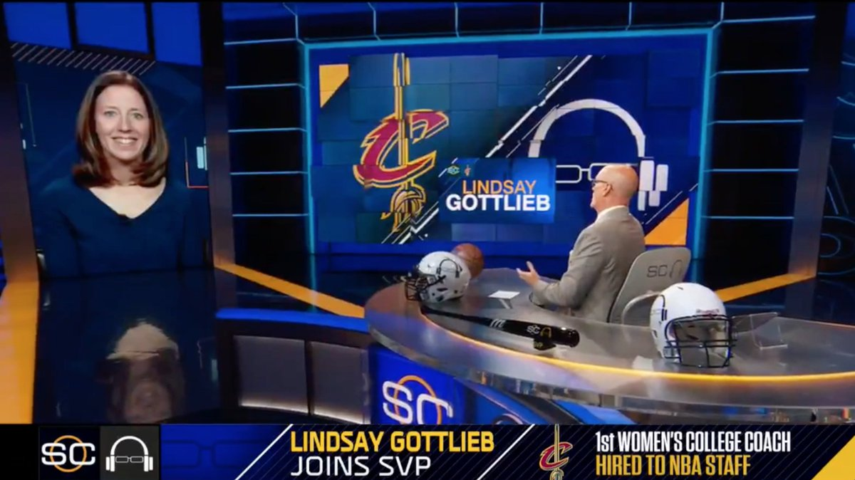 .@CoachLindsayG talked with @notthefakeSVP about how the opportunity to become the first women's college coach to be hired to an NBA staff came together.