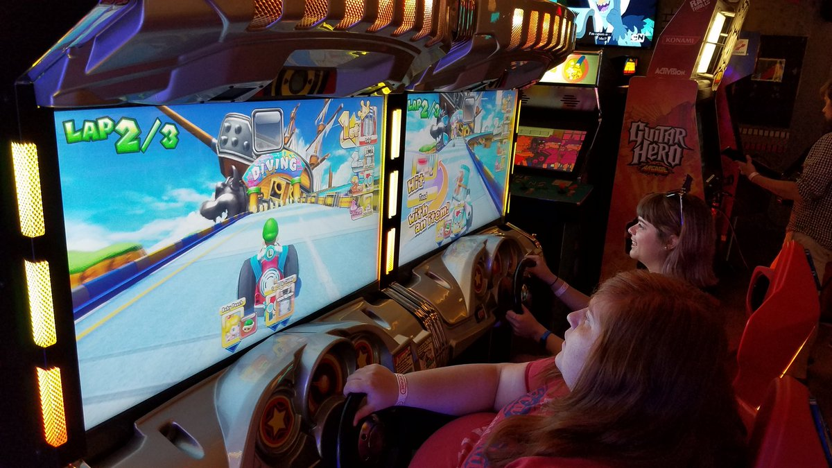 Good times at the #gameaudio casual #meetup today! But we take MarioKart very seriously! <br>http://pic.twitter.com/icBxnHmSXG
