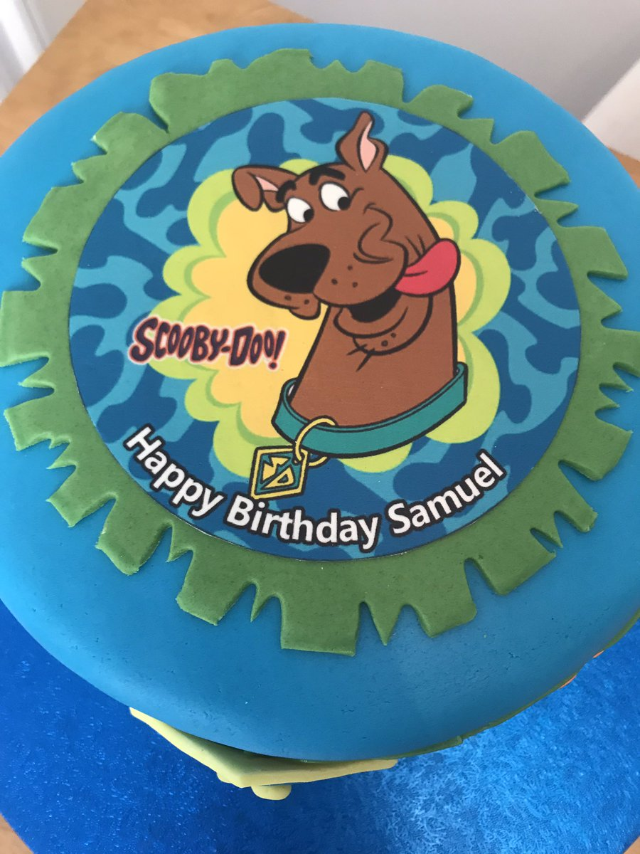 Astonishing Sweet Valley Cakes On Twitter A Scooby Doo Birthday Cake For A Funny Birthday Cards Online Alyptdamsfinfo