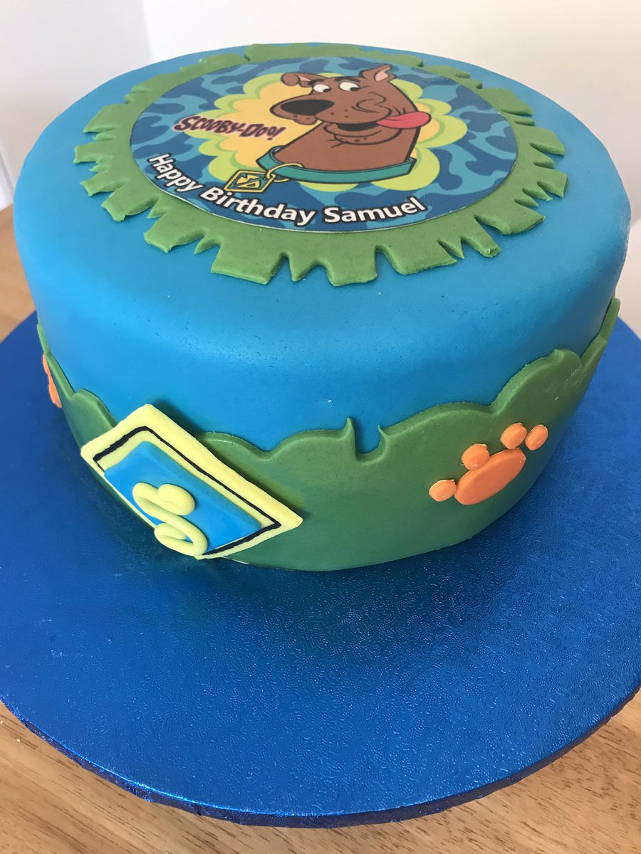 Outstanding Sweet Valley Cakes On Twitter A Scooby Doo Birthday Cake For A Funny Birthday Cards Online Elaedamsfinfo