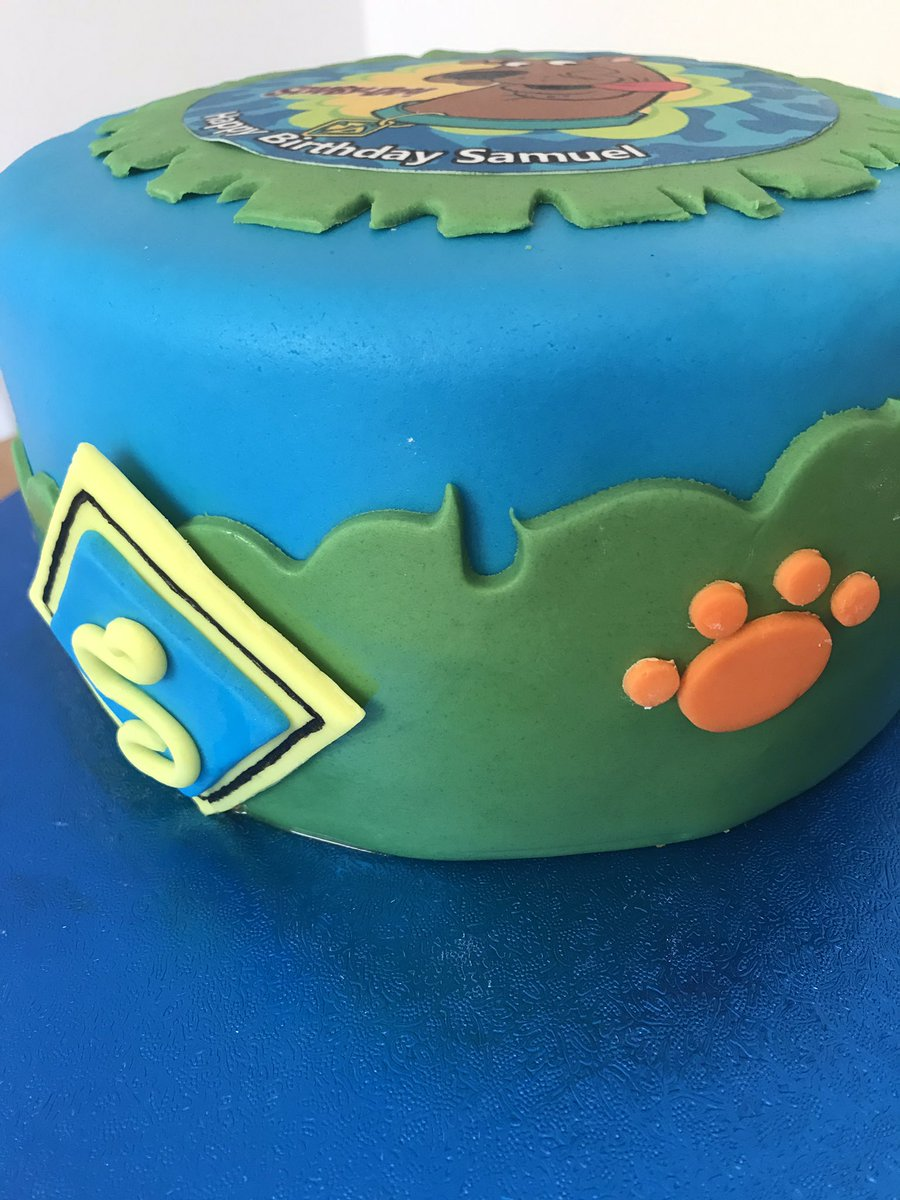 Magnificent Sweet Valley Cakes On Twitter A Scooby Doo Birthday Cake For A Funny Birthday Cards Online Alyptdamsfinfo