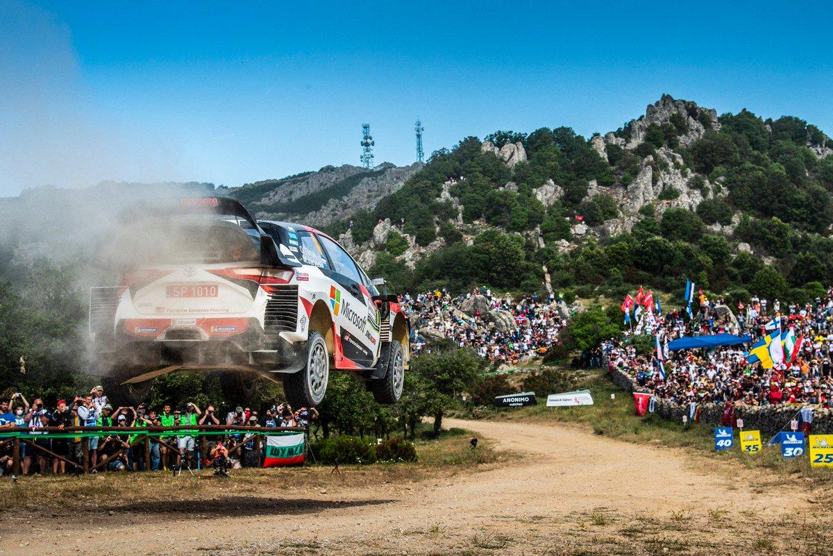 ⏱@Rally_d_Italia STAGE WINS TODAY: 6/6  O/A standings after SS15:  1️⃣ TÄNAK 3:04:10.3 2️⃣ Sordo +25.9 3️⃣ Suninen +42.9 4️⃣ Evans +1:25.4 5️⃣ Mikkelsen +1:33.3 6️⃣ Neuville +2:32.4 7️⃣ Lappi +2:58.3 8️⃣ Meeke +3:53.3 9⃣ Hänninen +7:23.2 🔟 Rovanperä +7:24.5  #RallyPortugal #WRC #GoOtt