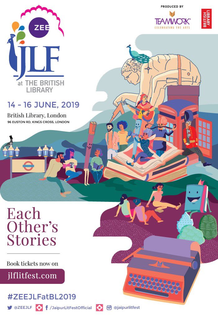 If you're in London tomorrow, just a reminder that I'll be participating in a panel about #Writing: #MakingYourMark as part of #ZEEJLFatBL2019 at the @BritishLibrary. Swing by at 12:30 to hear me in conversation with Irving Finkel, David M. Levy and @PragyaTiwari.<br>http://pic.twitter.com/JZplOiy165