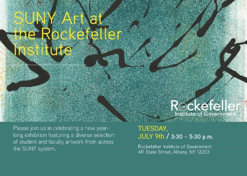 The @RockefellerInst will host a reception on July 9th to kick off a year-long exhibition of artwork from student and faculty in the @SUNY system.  RSVP: https://t.co/xbQhDOUxjw