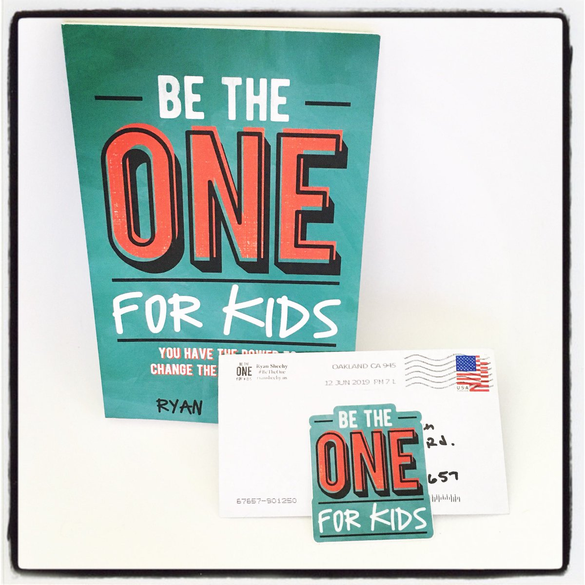 Excited to start #BeTheOne today! Thanks for the sticker, @sheehyrw 😊