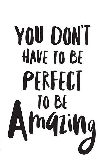 You don't have to be perfect to be amazing, just be yourself and let others come to you. #ThinkBIGSundayWithMarsha #Amazing #greatness #successquotes <br>http://pic.twitter.com/HntVMYKbA0