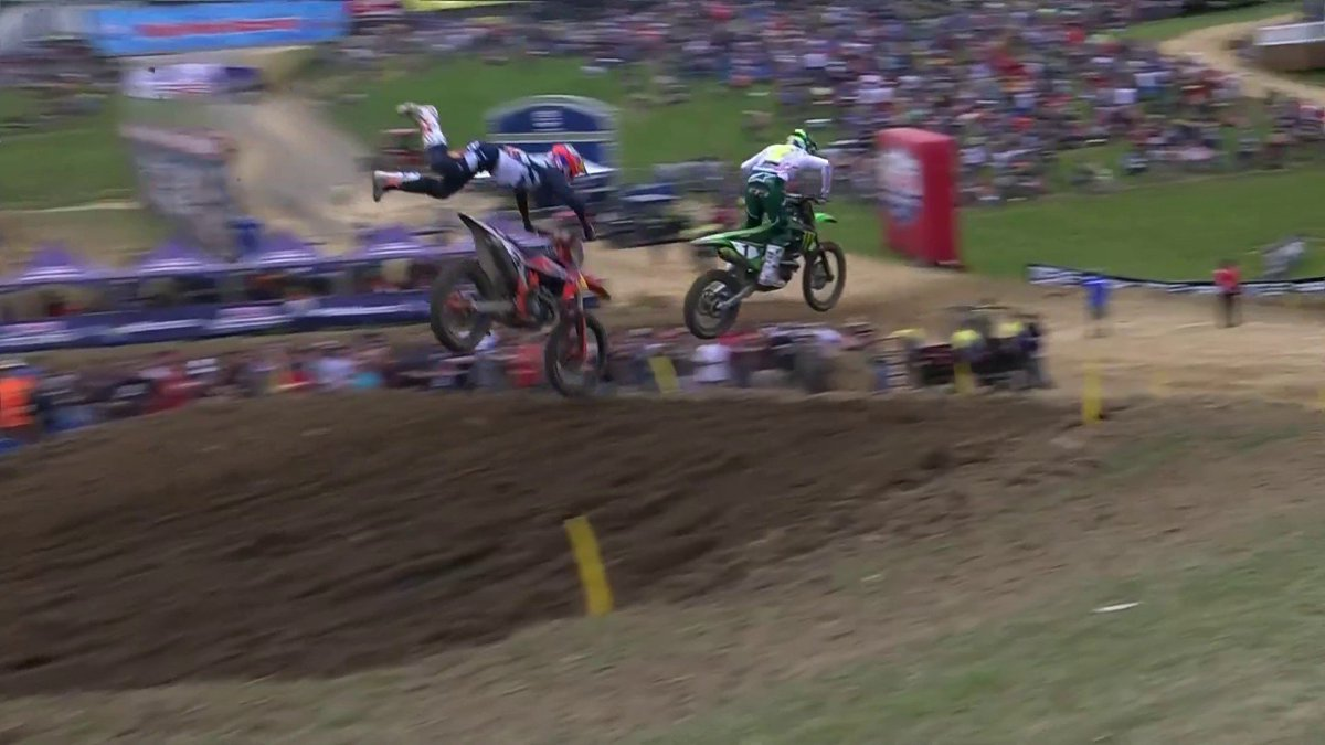 A big get off for Cooper Webb
