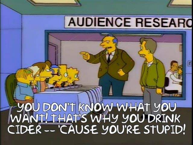 I love you Ireland Simpsons fans. Your hot takes are legendary.