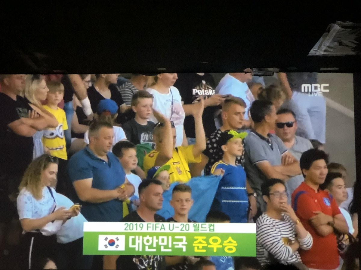 졌으나 잘 싸웠습니다~!!흔한 말이나 결승까지 온 것도 대단합니다~ 그동안 원했던 한국 축구의 모습을 어린 친구들이 보여줘서 정말 즐거웠습니다~!!수고하셨습니다~