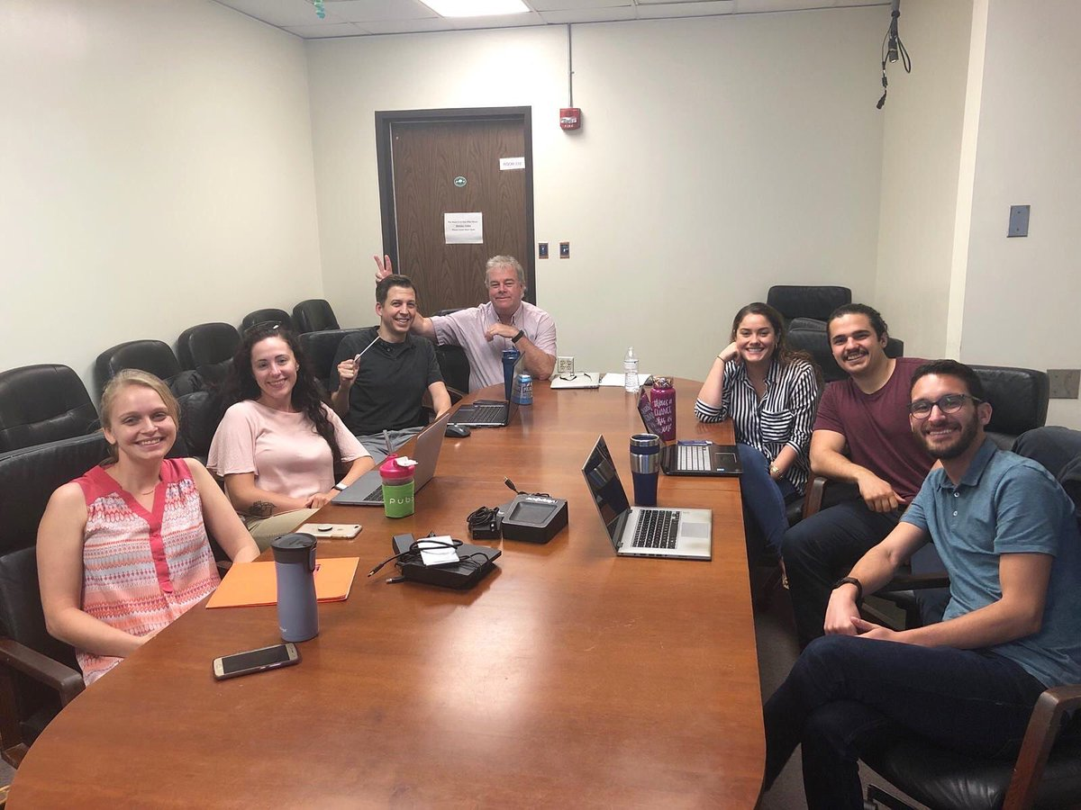 Last lab meeting for Dr. Daniel Conine! #vollmerlab #vollmerians