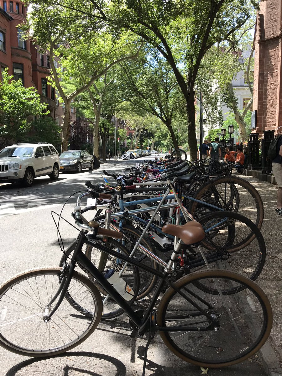 We can transform our streets to accommodate more than just cars #bikevalet #endcars #bicyclefilmfestival #transportationalternatives