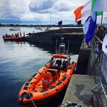 Image for the Tweet beginning: @niallotuathail Galway City RNLI Lifeboat