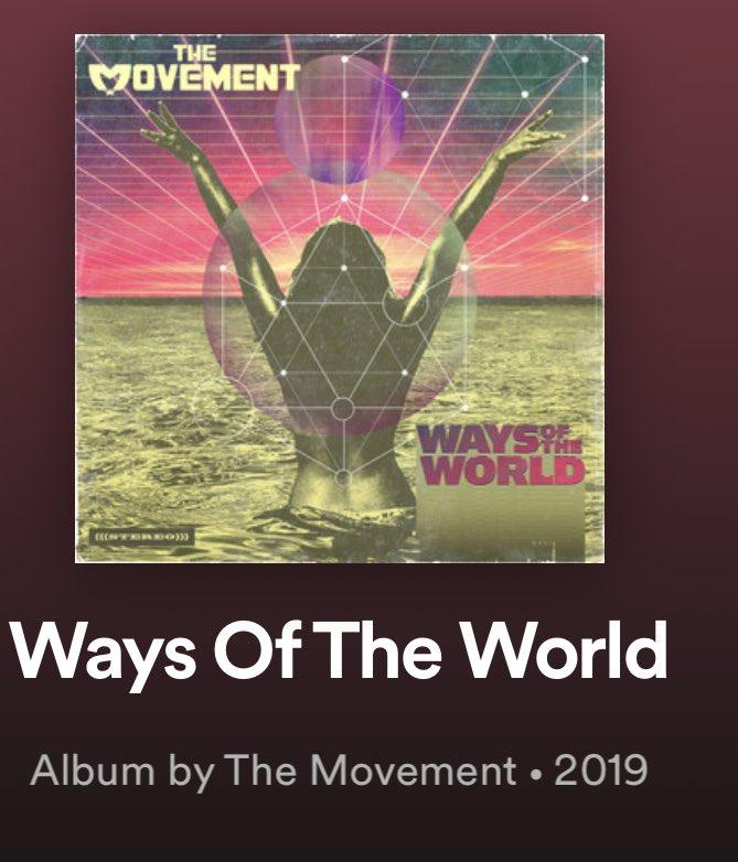 The Movement's new album is 🔥