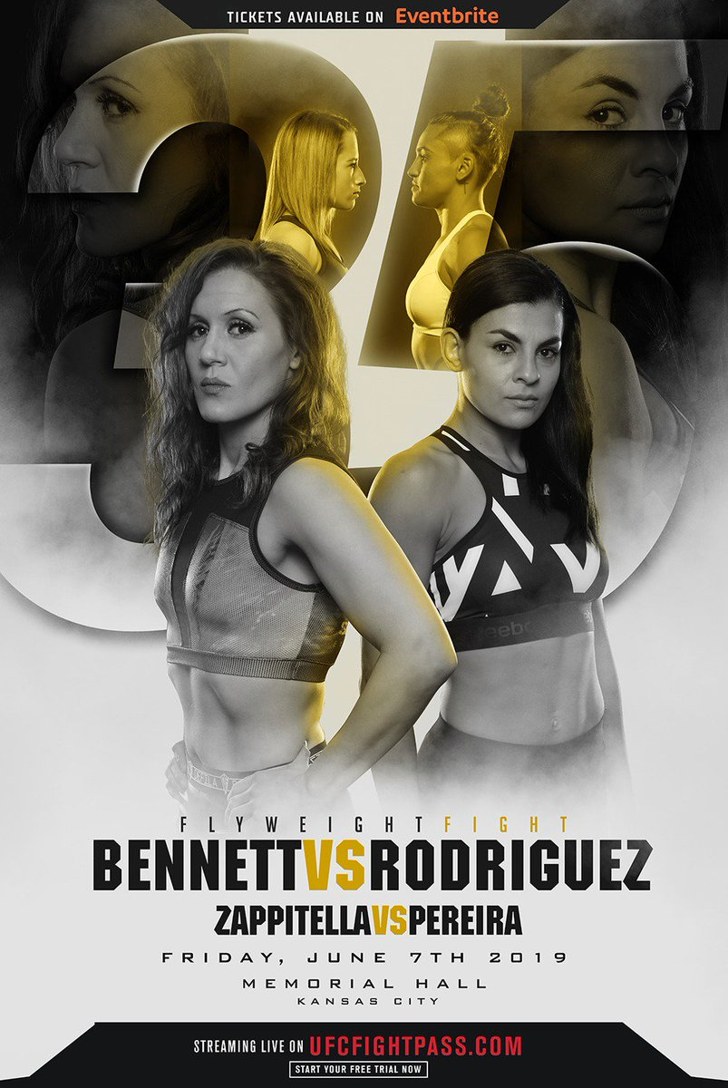 InvictaFights Miss #InvictaFC35: Bennett vs Rodriguez? Catch the replay anytime streaming exclusively on UFCFightPass!  #wmma