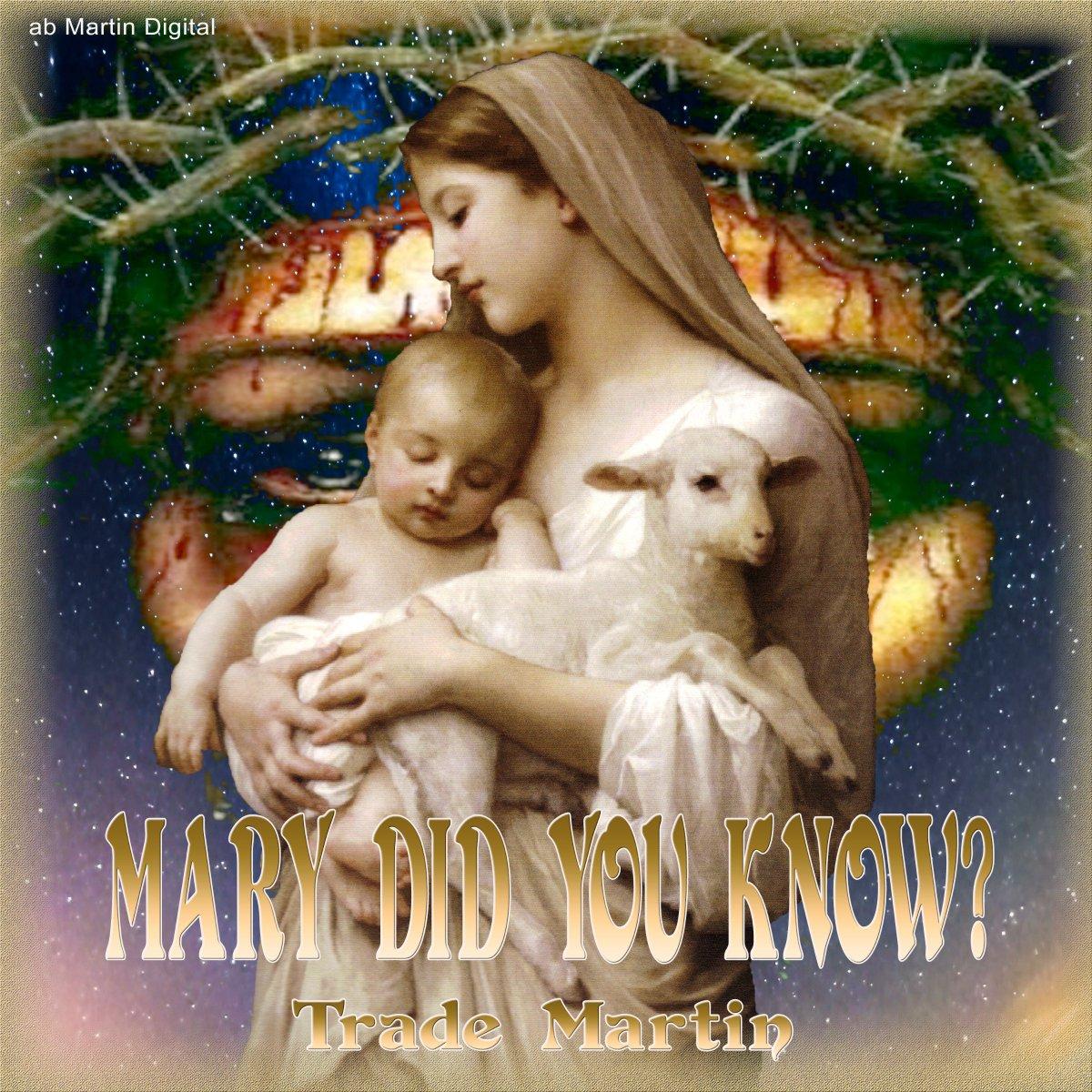 .Mary Did You Know https://www.youtube.com/watch?v=j9DF0cxQkek… #TradeMartin #abMartindigital #Amazon #iTunes #Pandora #Spotify #AppleMusic #OnSpotifyNow