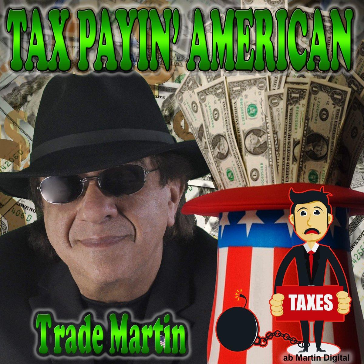 .Tax Payin American https://www.youtube.com/watch?v=ptV11ml9Pgk… #TradeMartin #abMartinDigital #Spotify #Amazon #iTunes #AppleMusic #Pandora RETWEET
