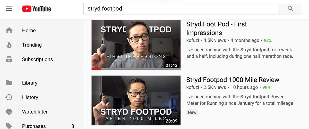 Stryd Foot Pod